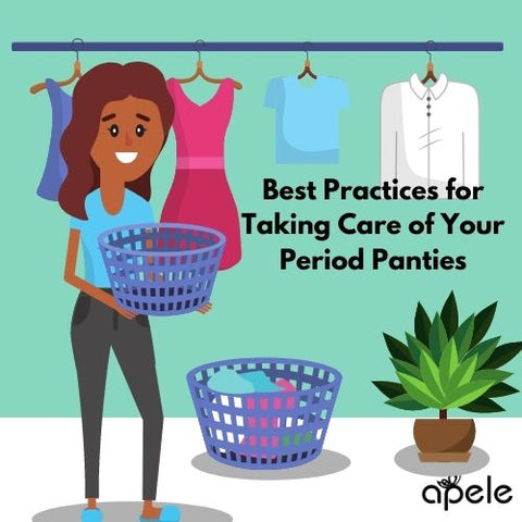how to wash period panties
