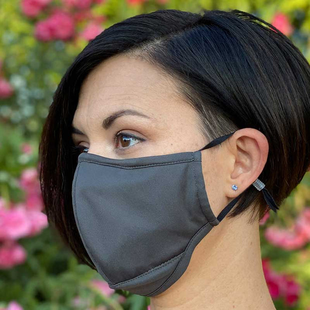 Face Mask w/ Anti-bacterial Nano Composite Fabric