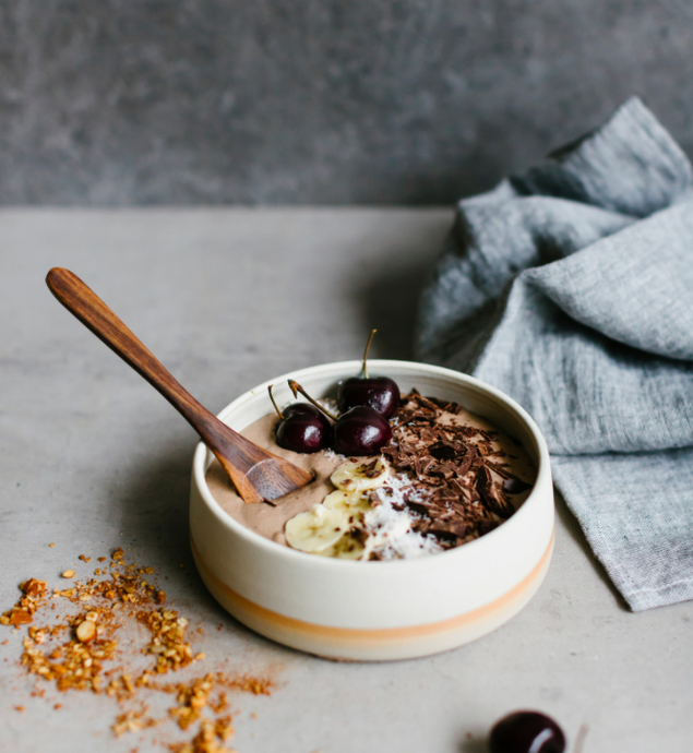 Recipe: Chocolate hazelnut protein bowl