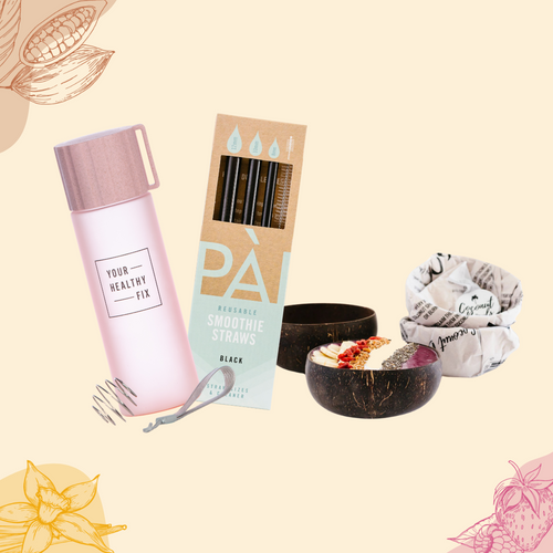 Reusables bundle pink