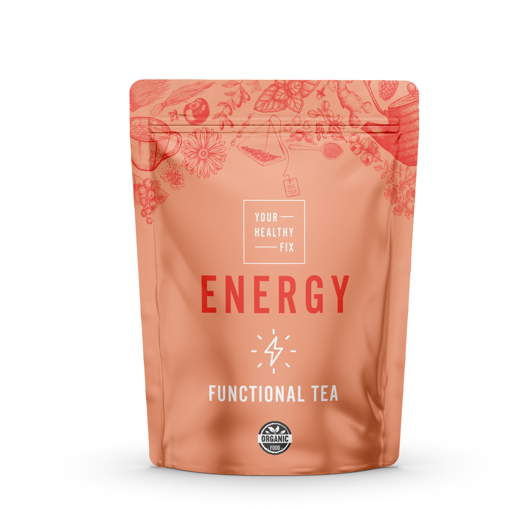 Functional energy green tea