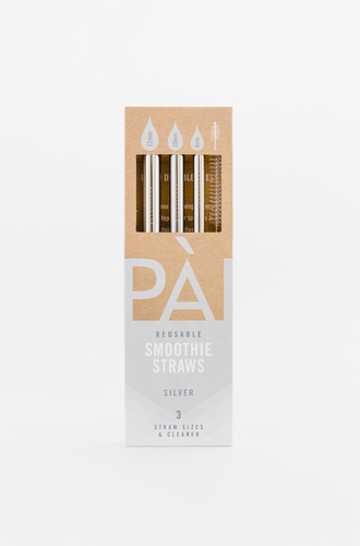 Sustainable smoothie straws