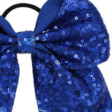 BOW ~ Sequin Cheer Large 6""