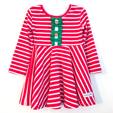 **PRE-ORDER** Christmas Twirl Dress ~ Cutee Girls