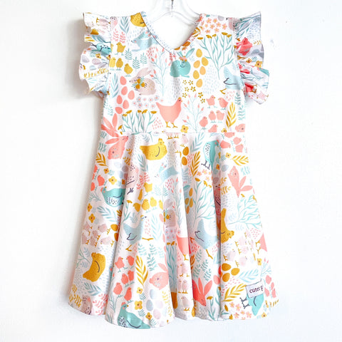 *COMING SOON* Spring Farm Twirl Dress ~ Cutee Girls Custom