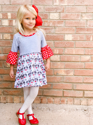 Ella June Pretty Puppy Dress