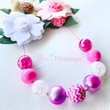 Bubblegum Necklace ~ Handmade