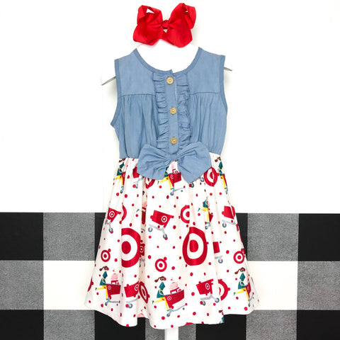 Target Chambray Denim Dress