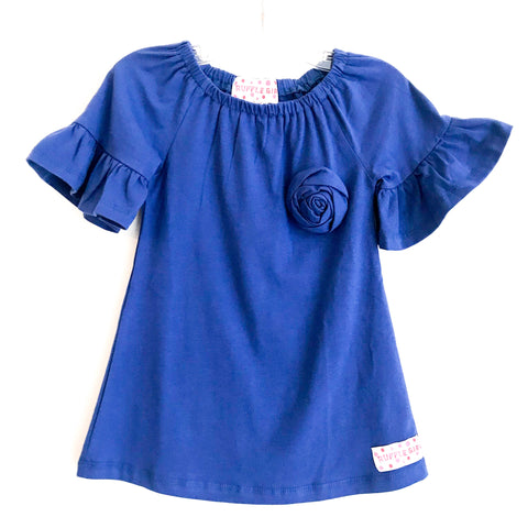 Blue Jay Bell Sleeve Shirt