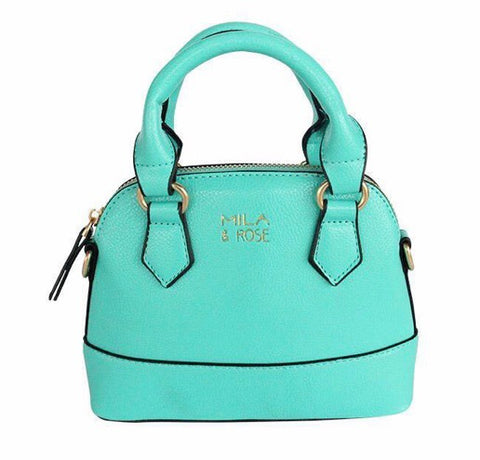 Kelly Green Spring Mini Crossbody Purse