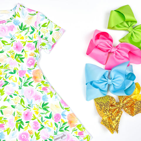 *PRE-ORDER* Sweet Petals Twirl Dress