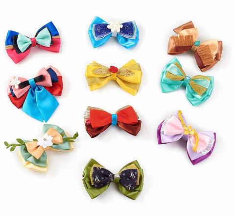 Satin Princess Inspired Bows