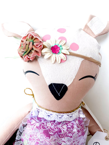 "Handmade Forest Friend Daphne ~ 18"" Doll"
