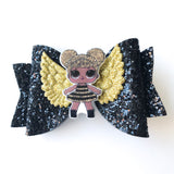 "4"" LOL Surprise Glitter Hairbow Clip"