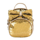 Sequin Mini Backpack / Crossbody Purse