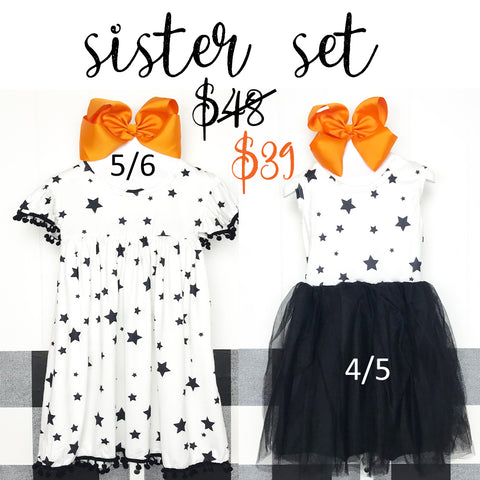 Shining Star Sister Set Dresses