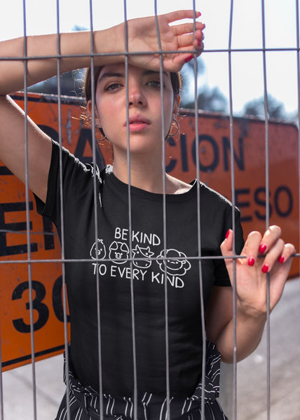 Be Kind To Every Kind - Vegan Tee