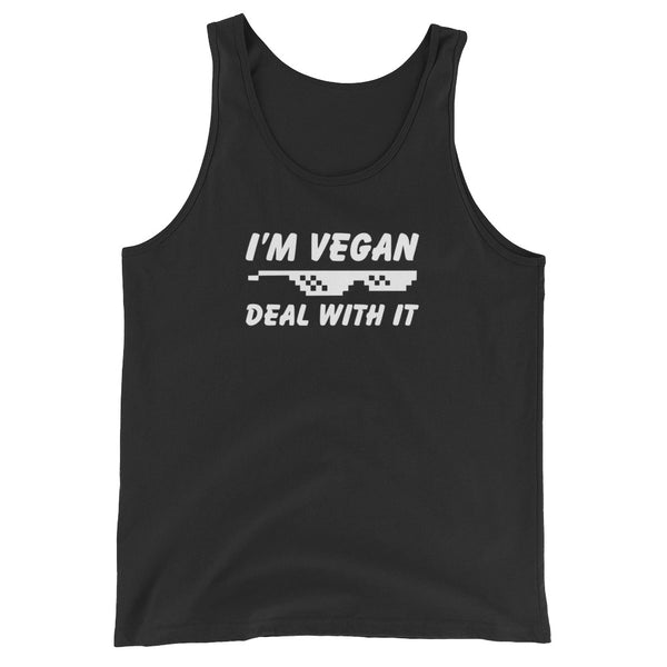 I'm Vegan Deal With It Tank Top