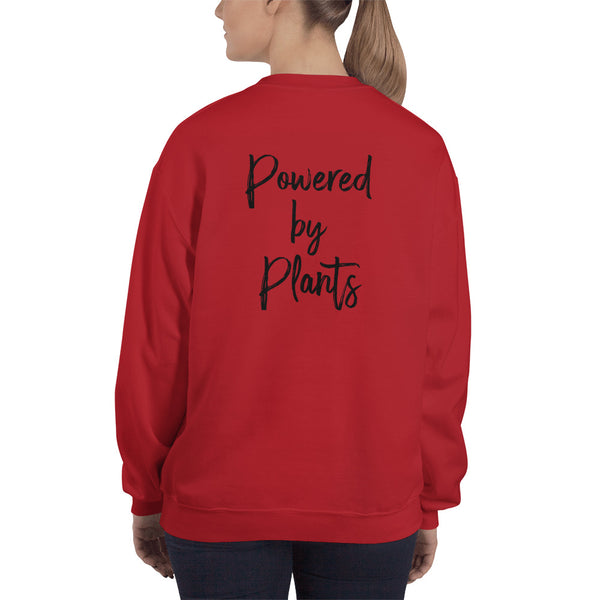 Powered By Plants - Vegan Sweatshirt