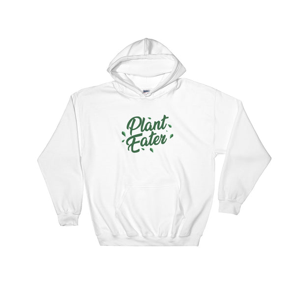 Plant Eater - Vegan Hoodie for vegans out there! UltraVe provides premium vegan clothing that are cruelty-free, ethical and sustainable. 10% of our profits are donated to animal welfare charities. We have vegan hoodies, vegan tshirts, vegan sweatshirts. Go Veganism!!