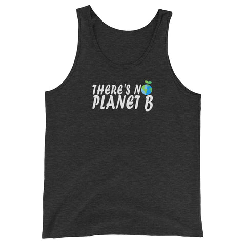 There's No Planet B (version 2 ) - Vegan Tank Top for vegans out there! UltraVe provides premium vegan clothing that are cruelty-free, ethical and sustainable. 10% of our profits are donated to animal welfare charities. We have vegan hoodies, vegan tshirts, vegan sweatshirts. Go Veganism!!
