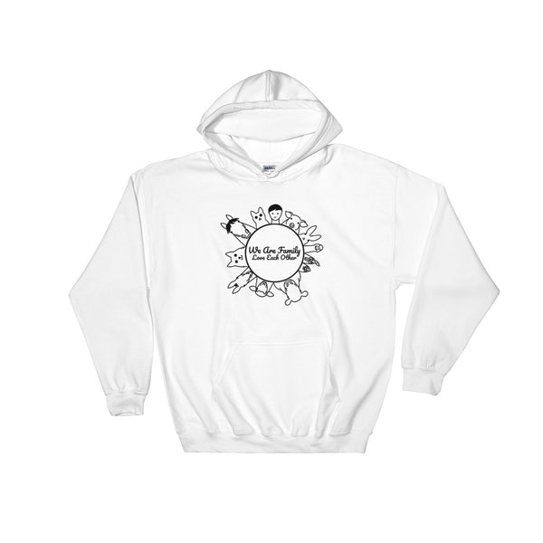 We Are Family Love Each Other Hoodie