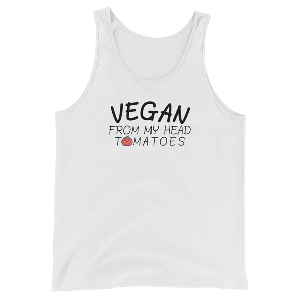 Vegan From My Head Tomatoes Tank Top