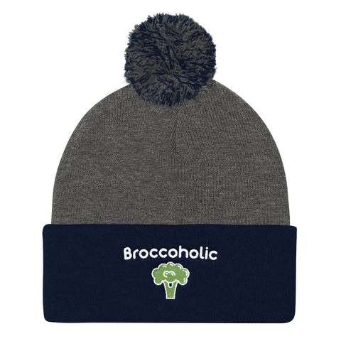 Broccoholic - Vegan Beanie for vegans out there! UltraVe provides premium vegan clothing that are cruelty-free, ethical and sustainable. 10% of our profits are donated to animal welfare charities. We have vegan hoodies, vegan tshirts, vegan sweatshirts. Go Veganism!!
