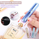 Portable Mini Easy Refillable Perfume Fragrance Spray Bottle Atomizer 5ml