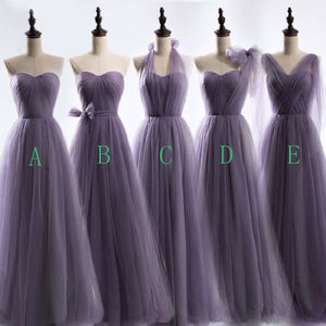 Different Style Sweetheart Empire Long Bridesmaid Dresses Cheap Prom Dresses