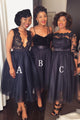 Different Style A Line Bridesmaid Dresses Inexpensive Prom Dresses - EVERISA