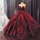 Burgundy Sweetheart A Line Prom Dresses,Sleeveless Quinceanera Dresses