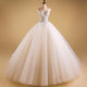 Ivory Sweetheart Backless Lace Wedding Dresses,Beaded Bridal Dresses