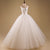 White Sweetheart Sleeveless Tulle Wedding Dresses,A Line Bridal Gown