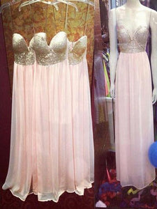 Spaghetti Straps Sweetheart Empire Bridesmaid Dresses Affordable Prom Dresses