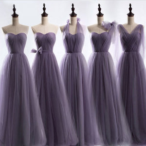Different Style Sweetheart Empire Long Bridesmaid Dresses Cheap Prom Dresses - EVERISA