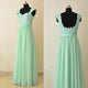 Sweetheart Backless Chiffon Prom Dresses Best Bridesmaid Dresses With Lace