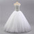 Sweetheart Sleeveless A Line Lace Appliques Wedding Dresses With Rhinestone