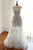 Elegant White Sweetheart Sleeveless Tulle Prom Dress Evening Dress With Appliques - EVERISA
