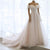 Elegant Off Shoulder Sleeveless Chiffon Wedding Dresses Long Bridal Gown