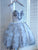 Sweetheart Sleeveless A Line Short Tulle Homecoming Dresses With Beaded