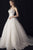 V Neck Strapless Sleeveless A Line Wedding Dresses Long Bridal Dresses