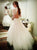 High Neck Long Sleeve Lace Appliques Wedding Dresses Open Back Bridal Gown