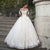 Long Sleeve Lace Appliques Wedding Dresses Backless A Line Bridal Gown