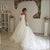 White Strapless Sweetheart Sleeveless Long Wedding Dresses With Flowers