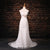 Cheap Sweetheart Sleeveless Wedding Dresses Lace Appliques Bridal Gown