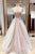 Scoop Neck Cap Sleeve Lace Appliques Wedding Dresses A Line Bridal Gown