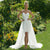 Spaghetti Strap Short Sheath Wedding Dresses With Detachable Skirt