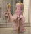 Pink Strapless Sweetheart Mermaid Prom Dresses With Ruched