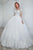 High Quality White Long Sleeves Backless Tulle Wedding Dress Lace Bridal Gowns - EVERISA